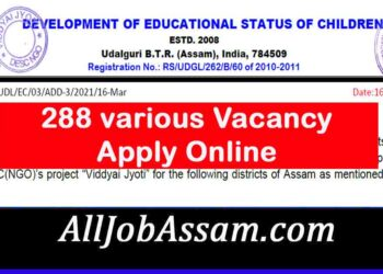 Development Of Educational Status Of Children (NGO) Job vacancy
