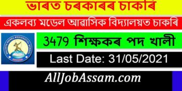 Eklavya Model Residential School Recruitment 2021